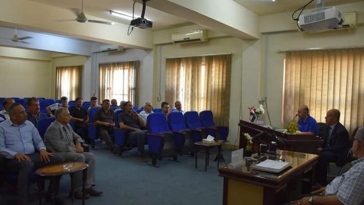 ندوة حول تطبيق نظام المقررات في معهد التكنولوجيا-بغداد